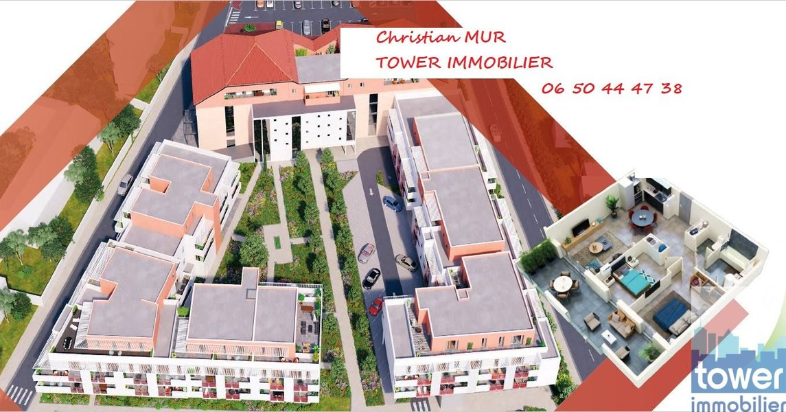Appartement neuf Agde - Agde (34300)  T2 40 M2