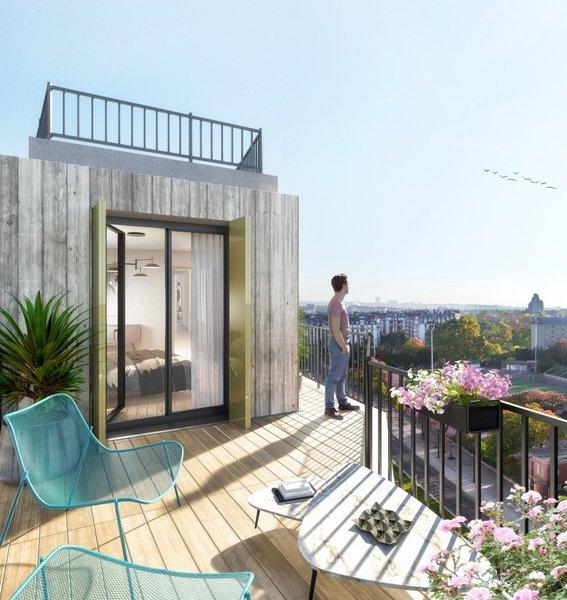 Appartements neufs Paris - Le Prismatic