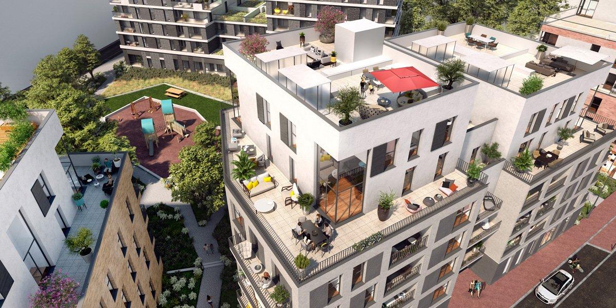 Appartements neufs Fontenay-sous-bois - Inflor&sens