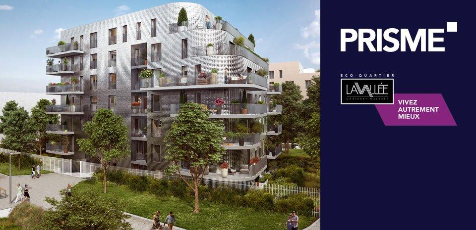 Appartements neufs Châtenay-malabry - Prisme - Lavallée