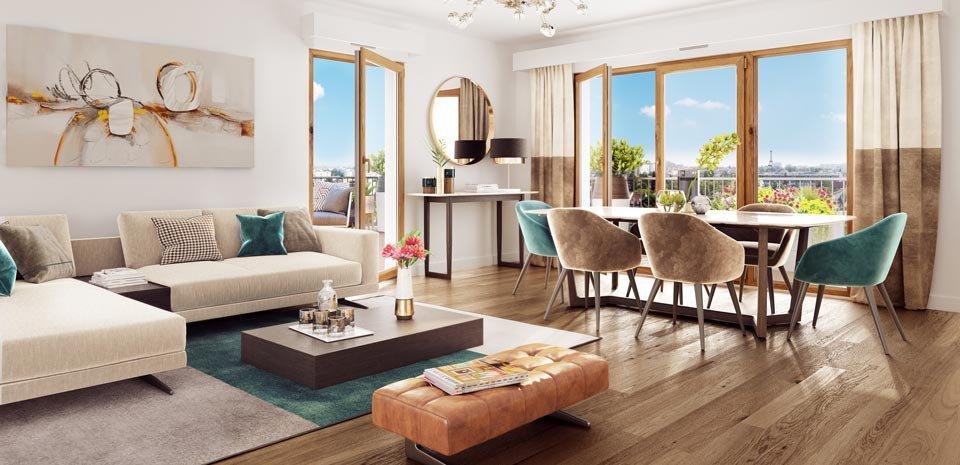 Appartements neufs Rueil-malmaison - ô Domaine - Tranche 3