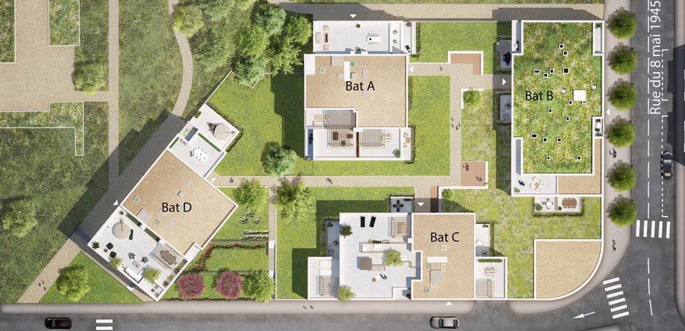 Appartement neuf Clermont-ferrand - Regens Parc