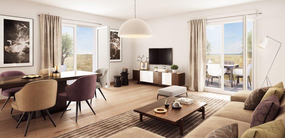 Appartements neufs Asnières-sur-seine - Partition