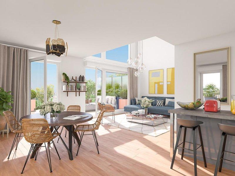 Appartements neufs Bobigny - Paris Canal - 165 Rue De Paris