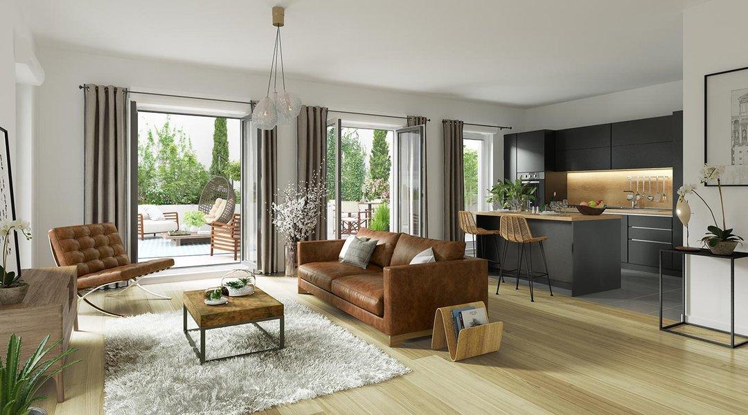 Appartement neuf Saint-ouen-sur-seine - Rue Pablo Picasso - Bâtiment B