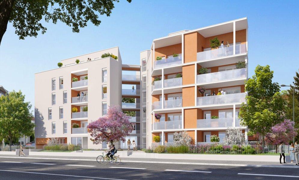 Appartements neufs Villeurbanne - Les Allées Perroncel