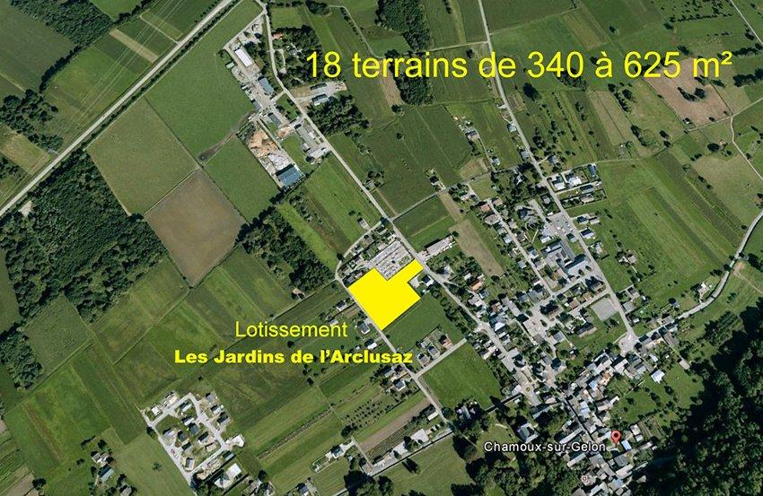 Terrain  Chamoux-sur-gelon - Terrain Constructible 340m2