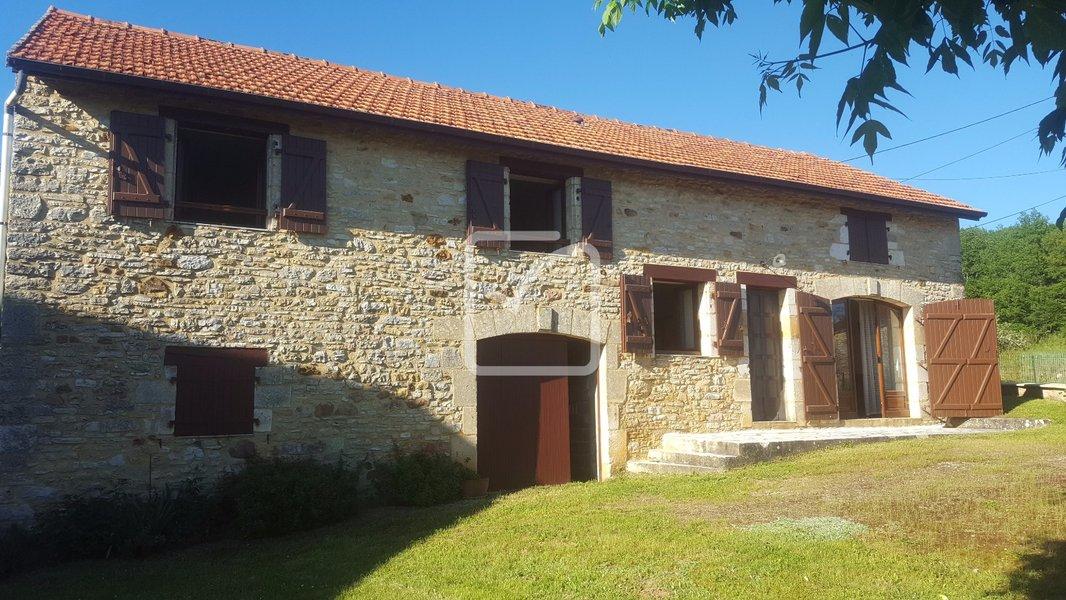 Maison neuve Saint-aubin-de-nabirat - Superbe Maison En Pierre à Saint Aubin De Nabirat
