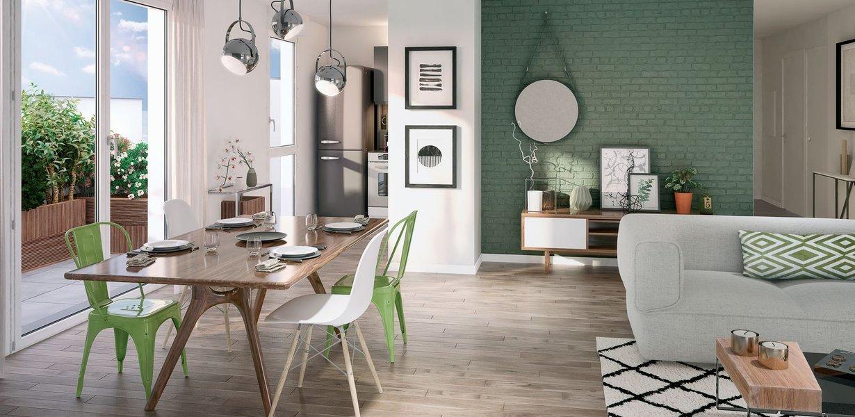 Appartement neuf Lagny-sur-marne - Oxygène