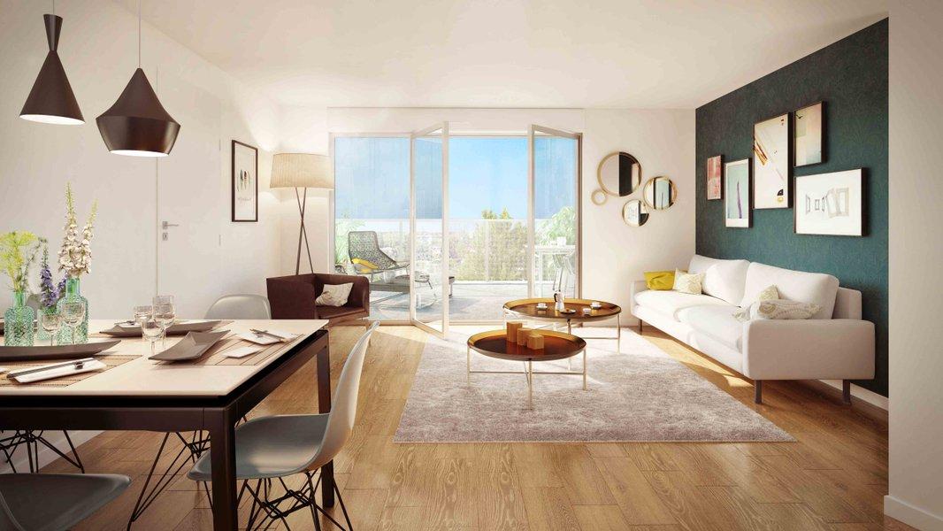 Appartements neufs Garges-lès-gonesse - Accord Boisé