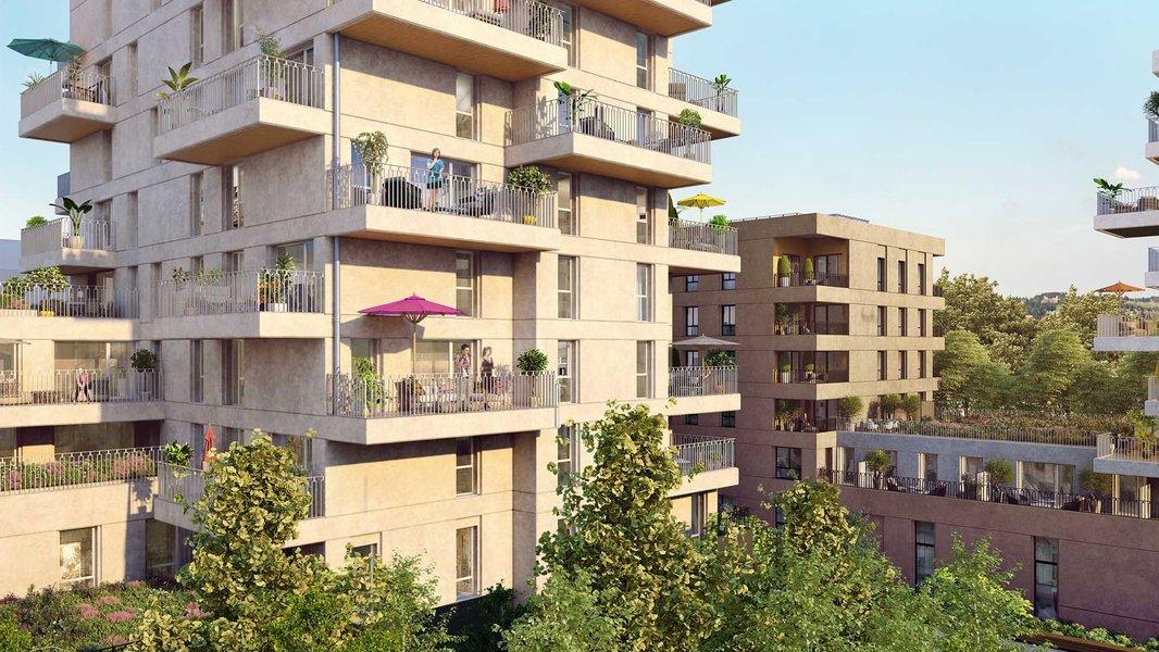Appartements neufs Villeurbanne - Crescendo