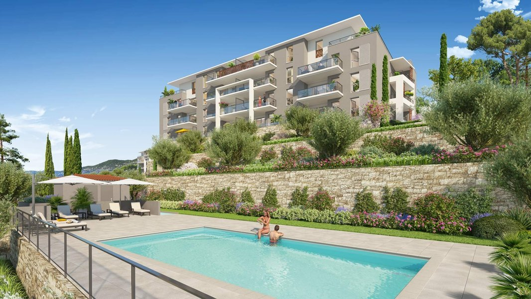 Appartements neufs Grasse - Roses Marine - Domaine Privé