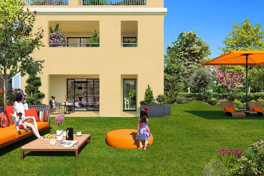 Appartements neufs Aix-en-provence - Authentic - Domaine Privé
