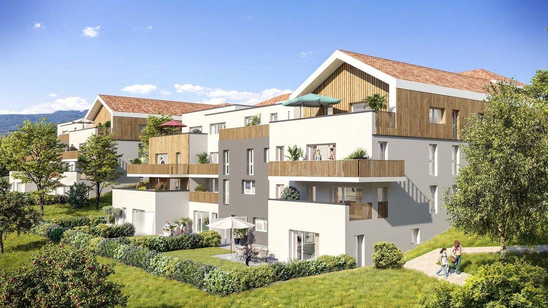 Appartements neufs Marigny-saint-marcel - La Clé Des Champs