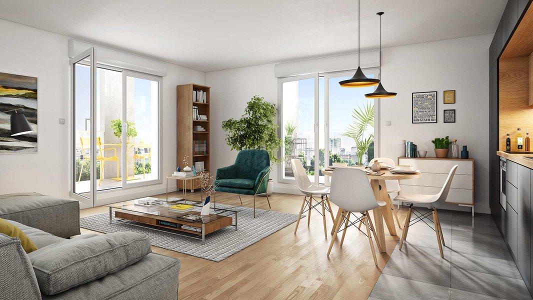 Appartements neufs Asnières-sur-seine - Le Chemin Des Arts