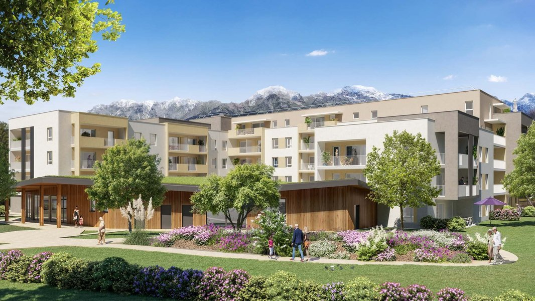 Appartements neufs Montbonnot-saint-martin - Horizon Belledonne - Cogedim Club®