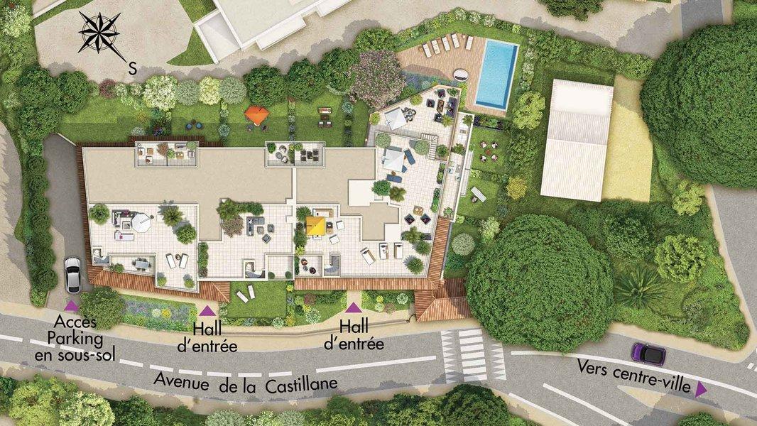 Appartements neufs Cavalaire-sur-mer - Castel Panorama