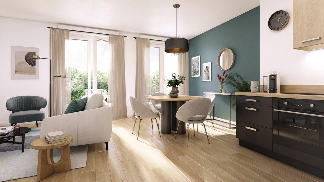 Appartements neufs Le Blanc-mesnil - Le Domaine De La Reine
