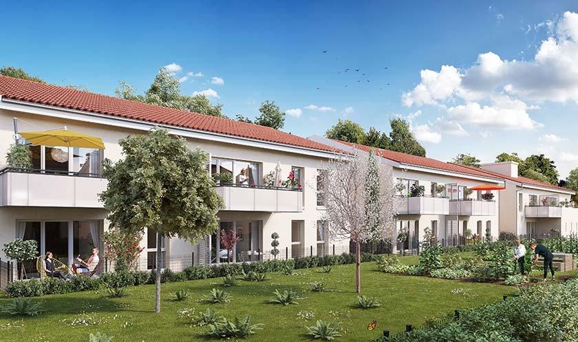 Maisons neuves Vaulx-en-velin - #pur Cottage