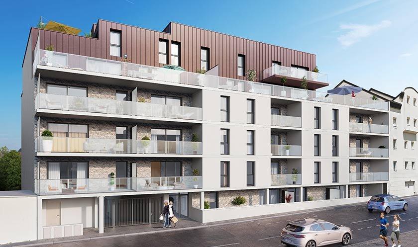 Appartement neuf Vannes - Les Cascades De Boismoreau