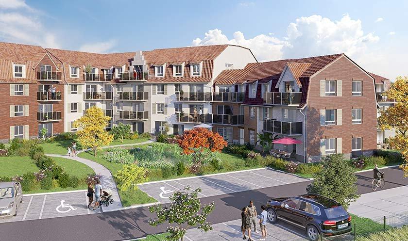 Appartements, maisons neufs Linselles - Le Fil Du Lin