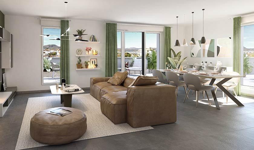Appartements neufs Clermont-ferrand - L'alcôve