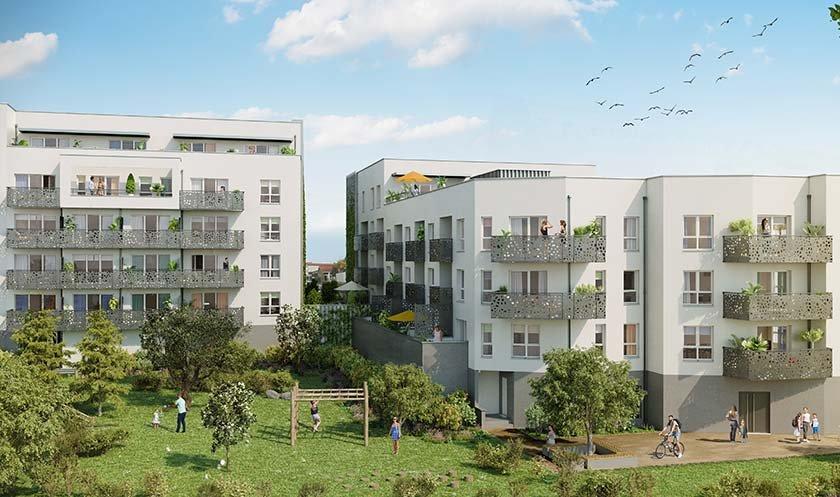 Appartements neufs Clermont-ferrand - Garden City - Inten'city