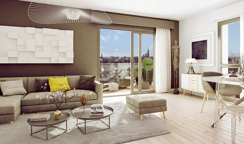 Appartement neuf Strasbourg - K-west