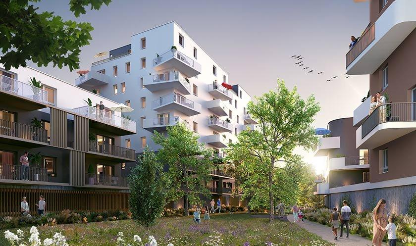 Appartement neuf Schiltigheim - Les Allées Gutenberg