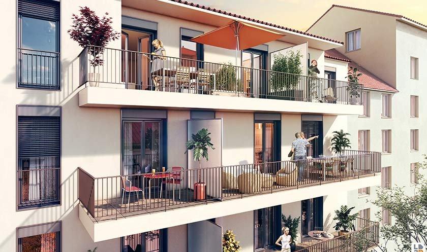 Appartements neufs Lyon - Chez Soie, Plateau De La Croix-rousse