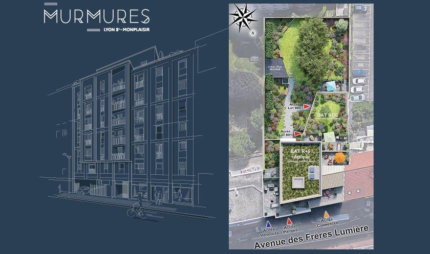 Appartements neufs Lyon - Murmures