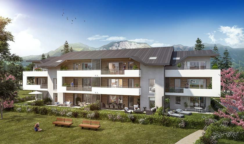 Appartements neufs Saint-pierre-en-faucigny - Autour D'un Jardin
