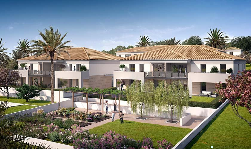 Appartements, maisons neufs Sanary-sur-mer - Terra'sana