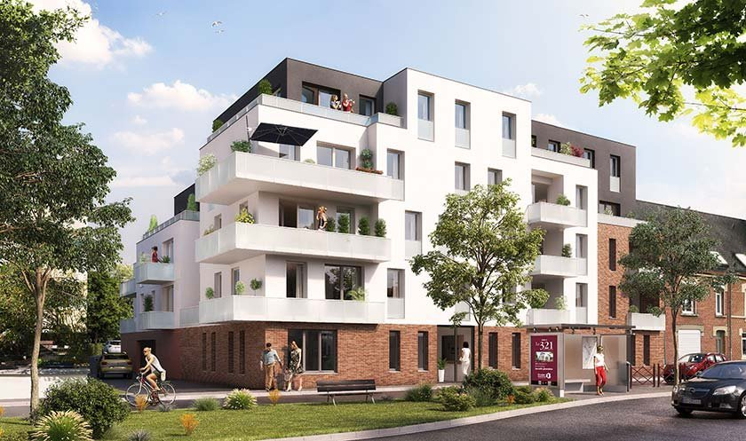 Appartement neuf Amiens - Le 321 St Quentin