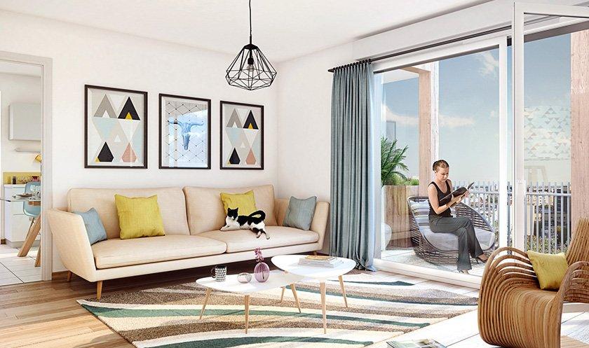 Appartement neuf Romainville - Les Allées Douces