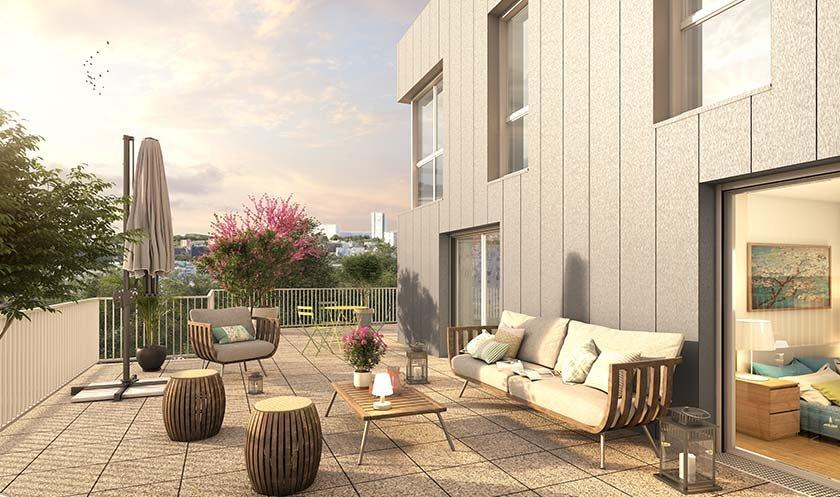 Appartement neuf Rosny-sous-bois - Le Domaine Du Pre