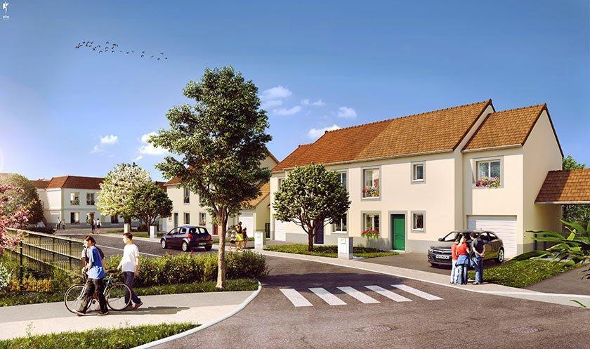 Maison neuve Ballancourt-sur-essonne - Le Jardin Des Peintres