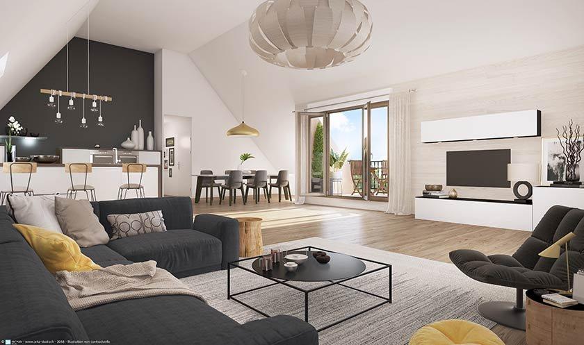 Appartement neuf Saint-prix - Manon Roland