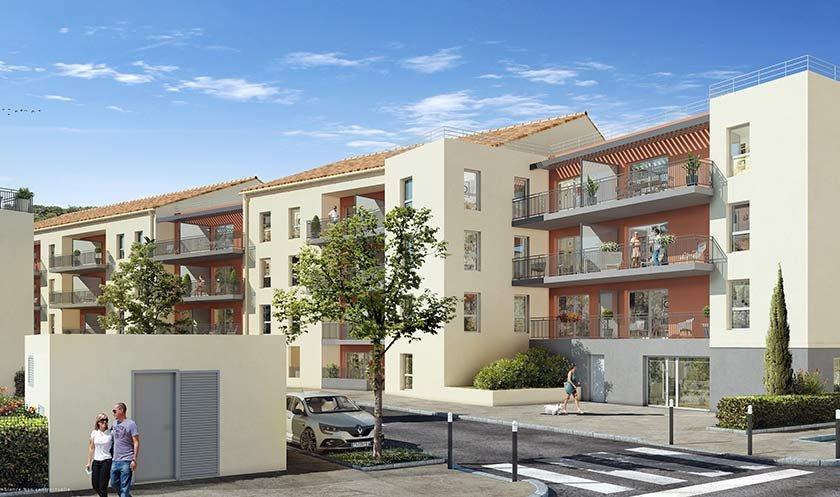 Appartements neufs Saint-andré-de-la-roche - Coeur Saint Andre