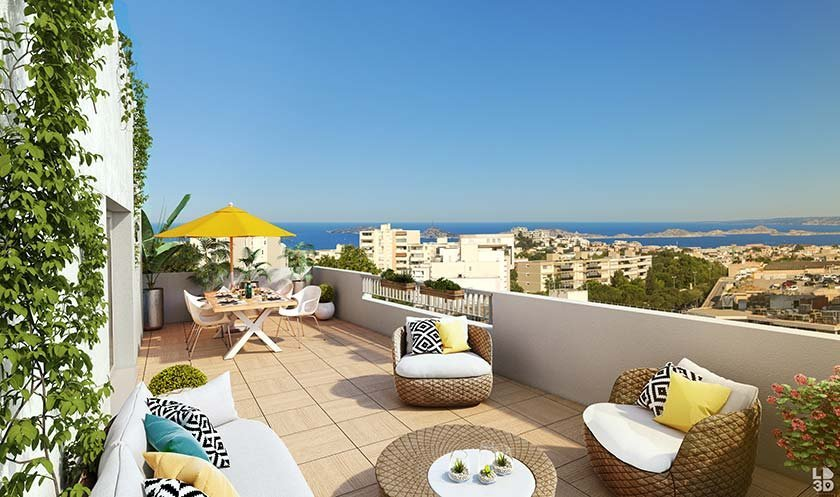 Appartements neufs Marseille - Panoramik
