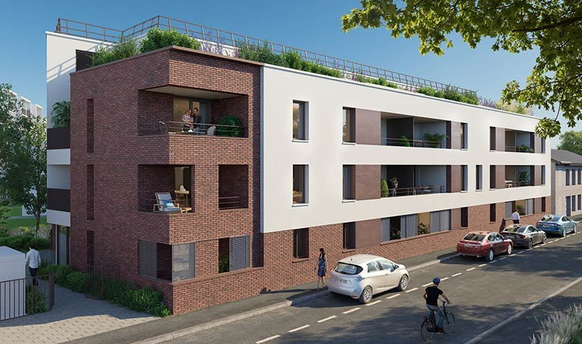 Appartement neuf Bordeaux - 350 Thiers