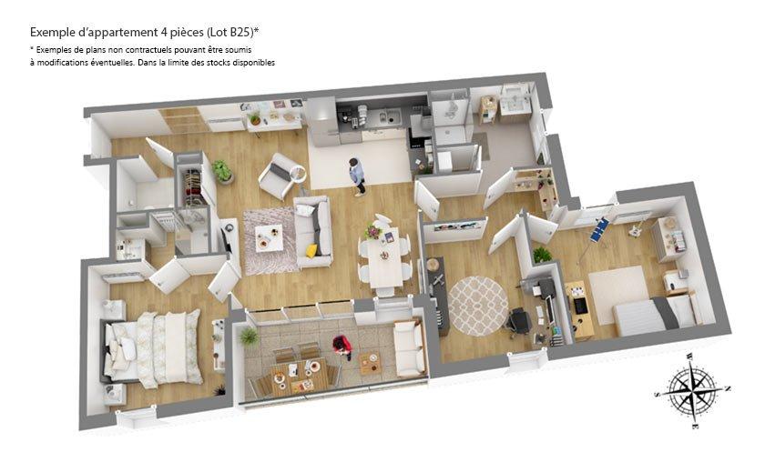 Appartement neuf Tours - Symphon'y