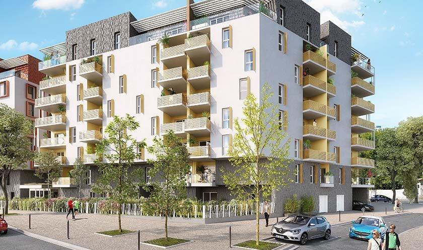 Appartements neufs Montpellier - Esquisse