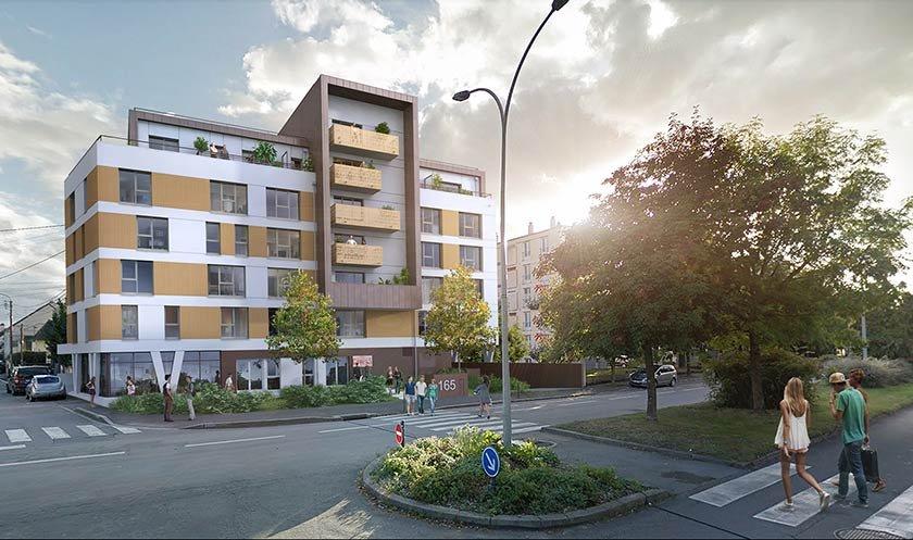 Appartements neufs Rennes - My Campus Villejean-universite