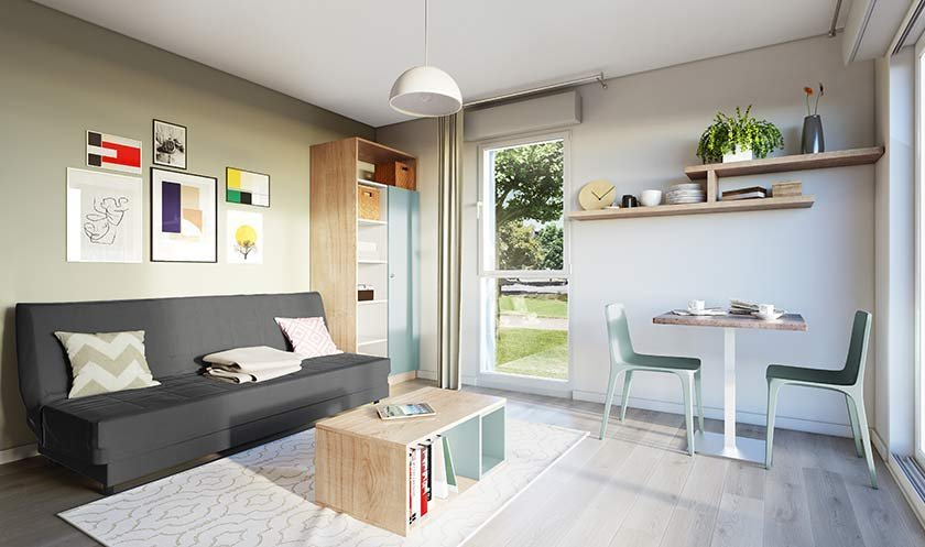 Appartements neufs Rennes - My Campus Rennes I