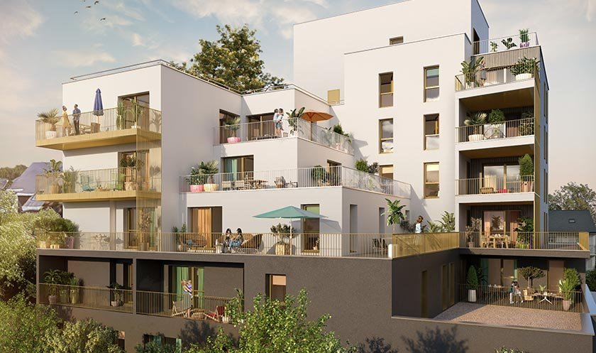 Appartement neuf Rennes - Cascade Saint-martin
