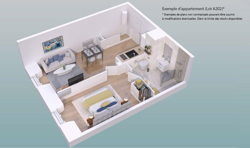 Appartement neuf Rouen - Le Carre Philippon