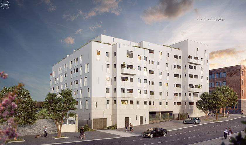 Appartements neufs Clermont-ferrand - L'emblématique - Hôtel Dieu