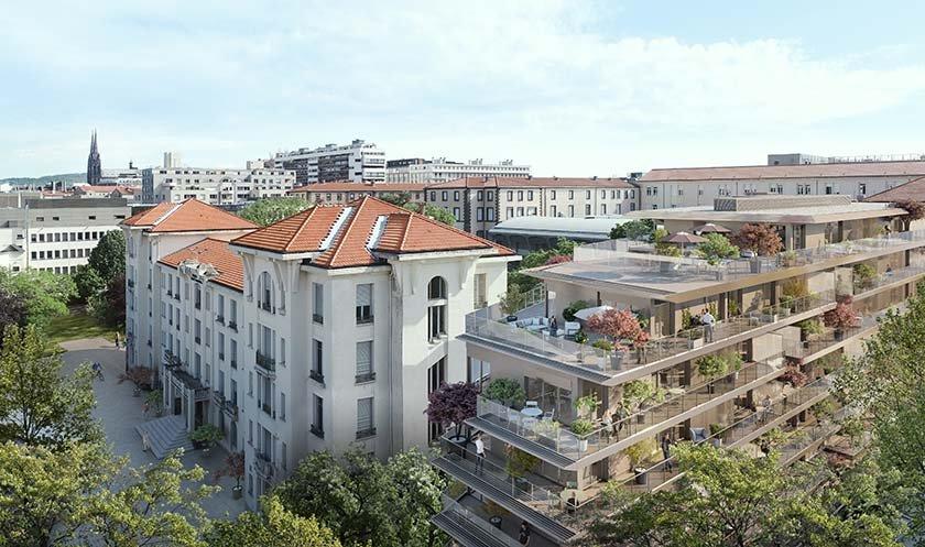 Appartements neufs Clermont-ferrand - Les Terrasses De L Hôtel-dieu