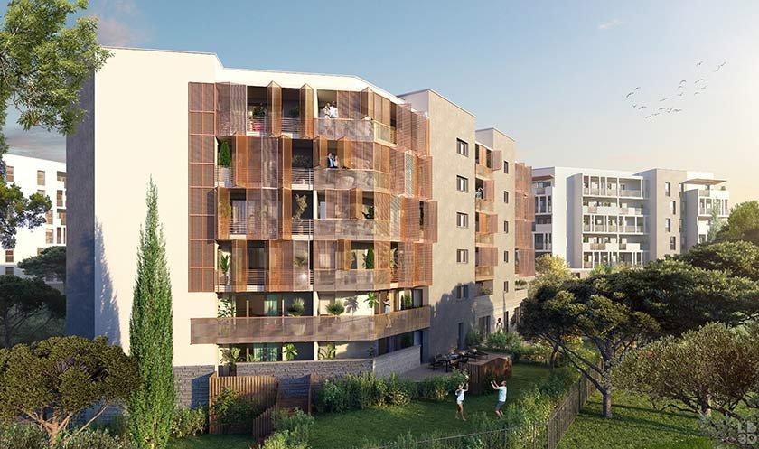 Appartement neuf Montpellier - Domaine De Pascalet